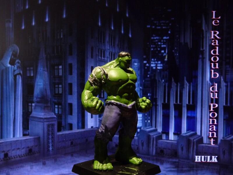 Hulk - Figurine en plomb Mlhul810