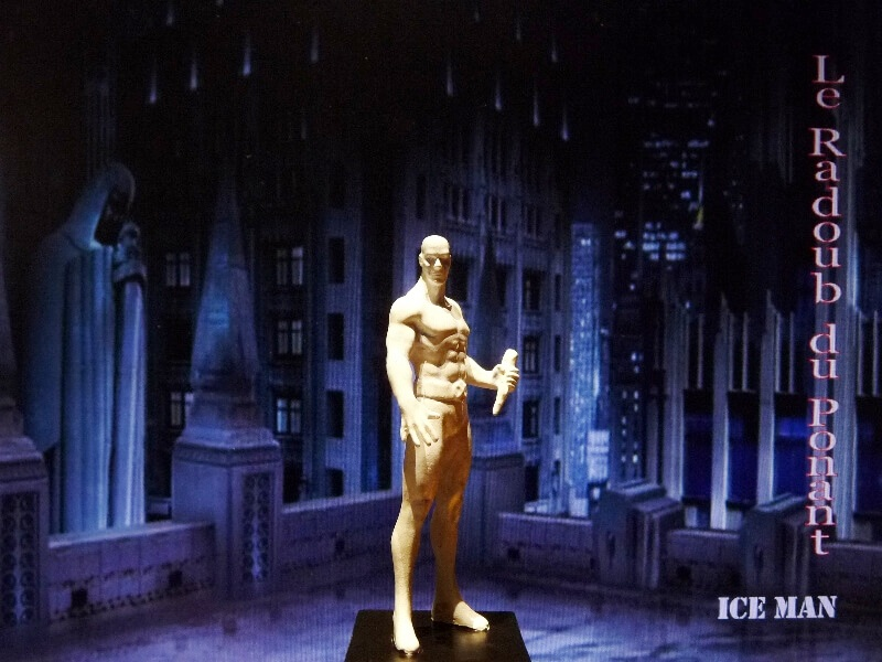 Ice Man - Figurine en plomb Mlicm110