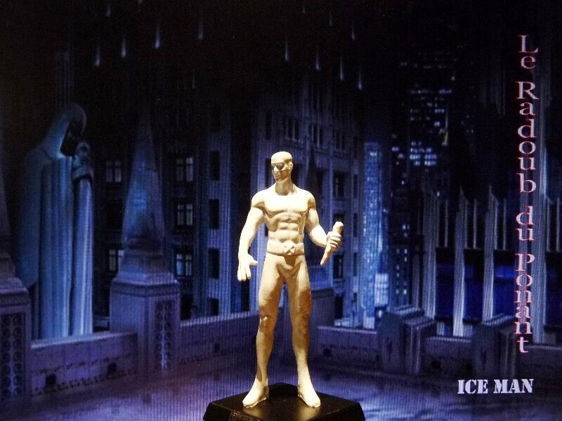 Ice Man - Figurine en plomb Mlicm210