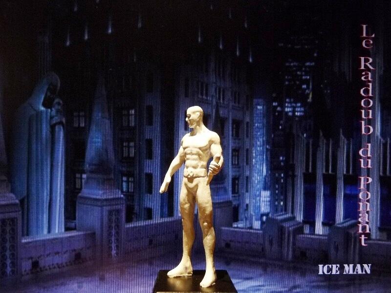 Ice Man - Figurine en plomb Mlicm310