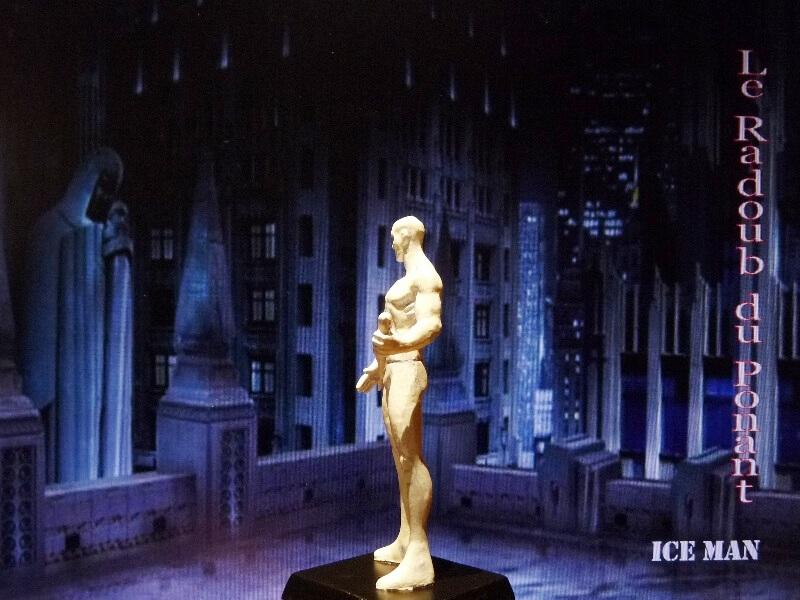 Ice Man - Figurine en plomb Mlicm410