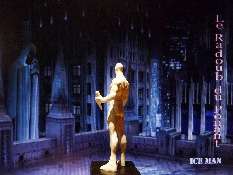 Ice Man - Figurine en plomb Mlicm510