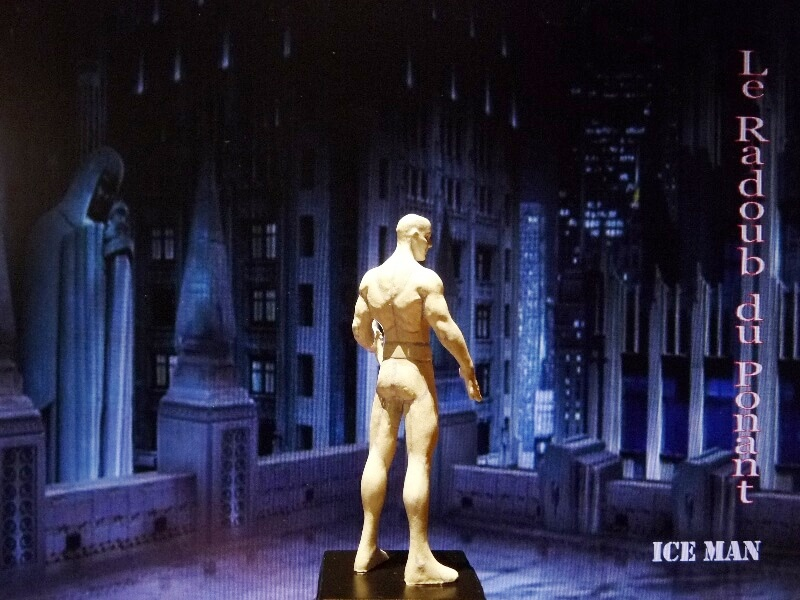 Ice Man - Figurine en plomb Mlicm710