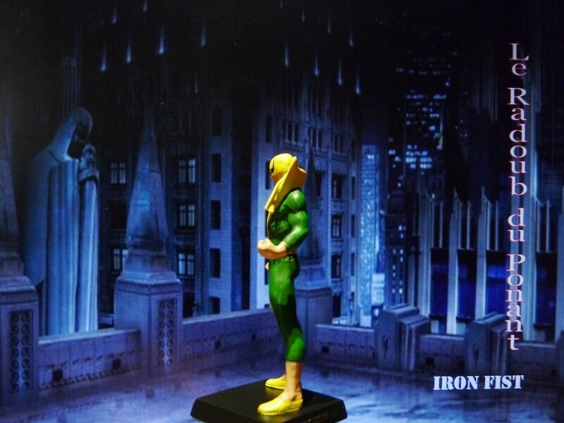Iron Fist - Figurine en Plomb Mlinft10
