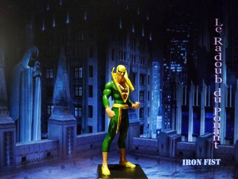 Iron Fist - Figurine en Plomb Mlinft11