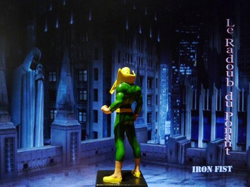 Iron Fist - Figurine en Plomb Mlinft12
