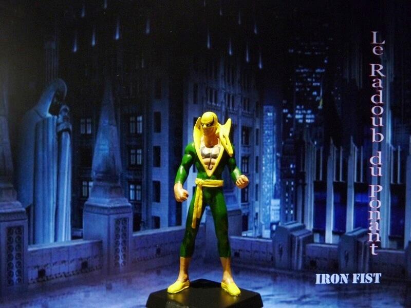Iron Fist - Figurine en Plomb Mlinft13