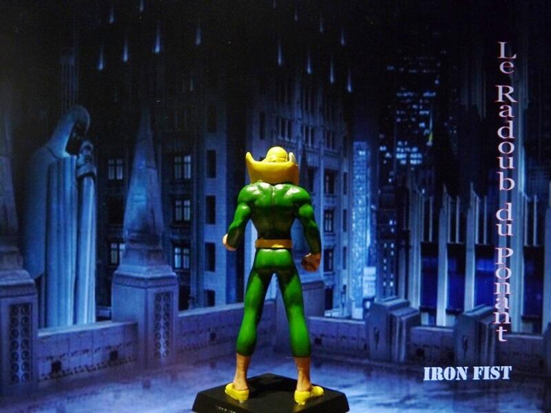 Iron Fist - Figurine en Plomb Mlinft14