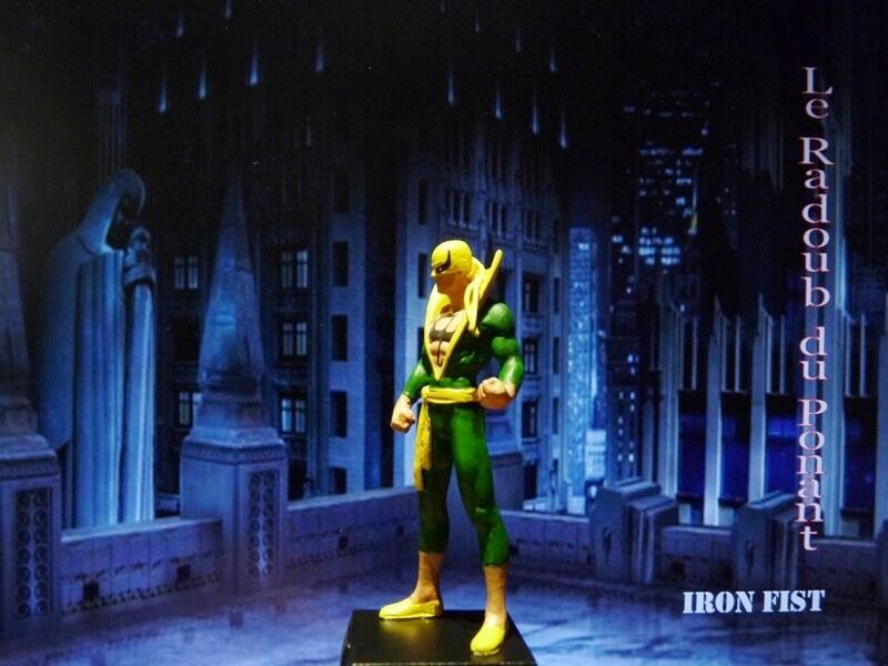 Iron Fist - Figurine en Plomb Mlinft15