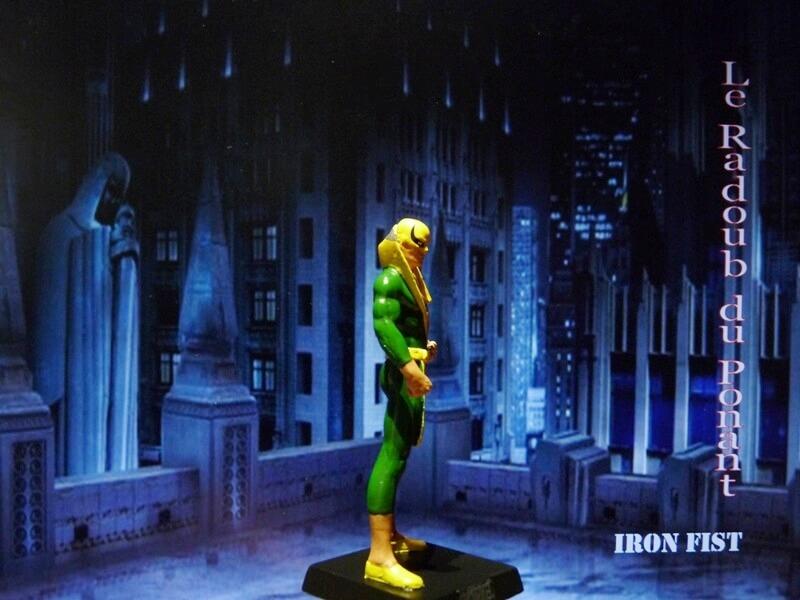 Iron Fist - Figurine en Plomb Mlinft16