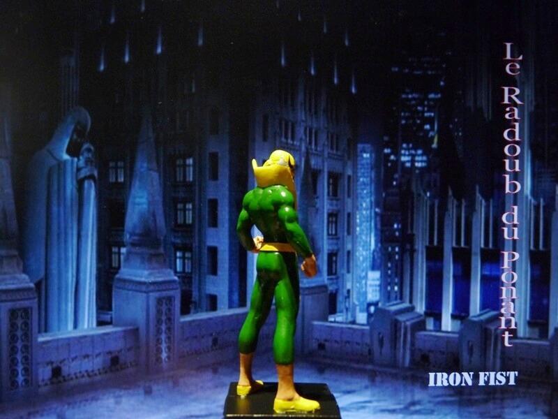 Iron Fist - Figurine en Plomb Mlinft17