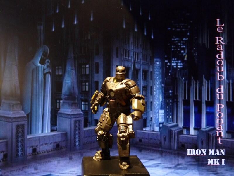 Iron Man MKI - Figurine en plomb Mliri110