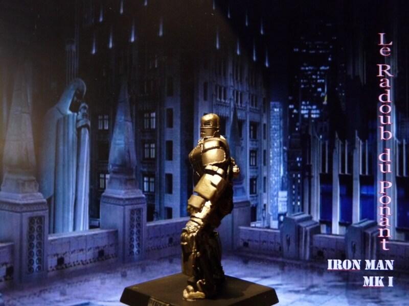 Iron Man MKI - Figurine en plomb Mliri210