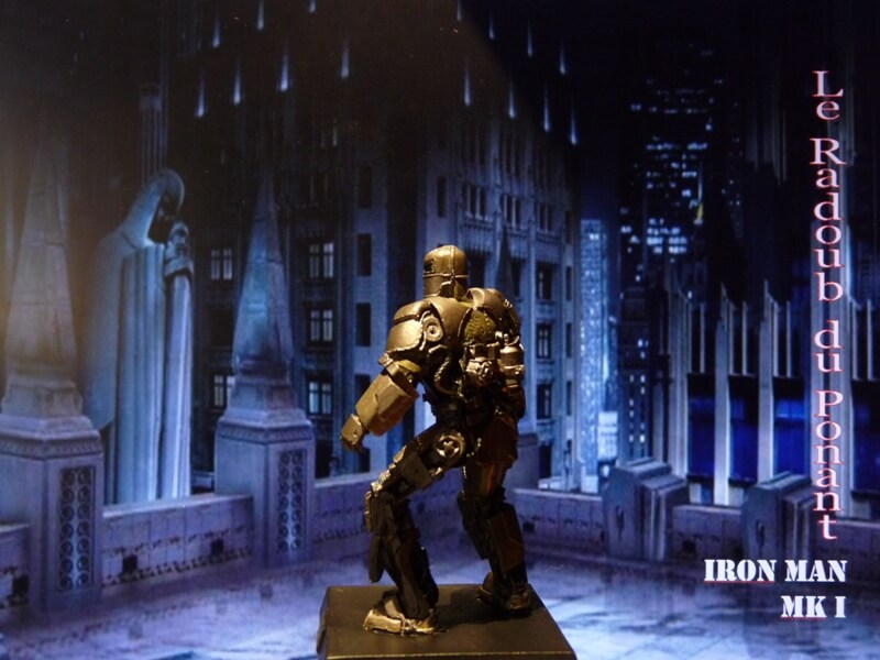 Iron Man MKI - Figurine en plomb Mliri310