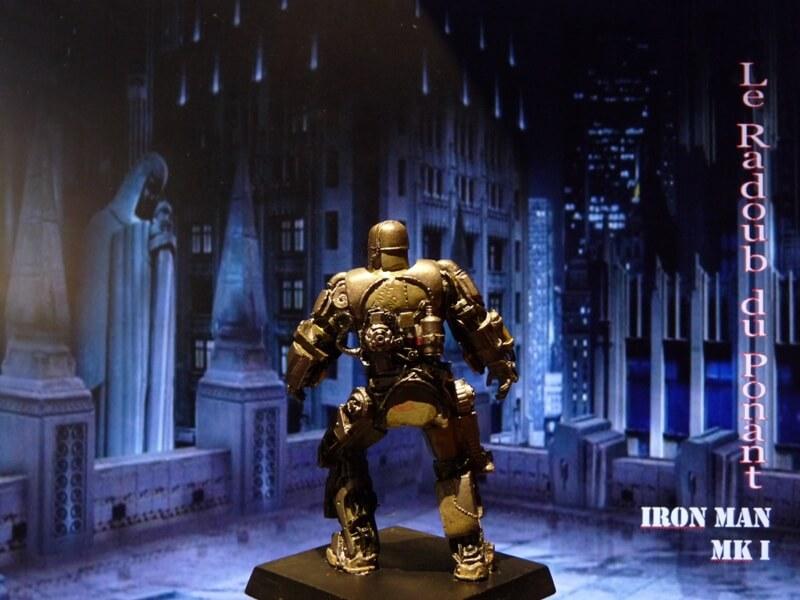 Iron Man MKI - Figurine en plomb Mliri410