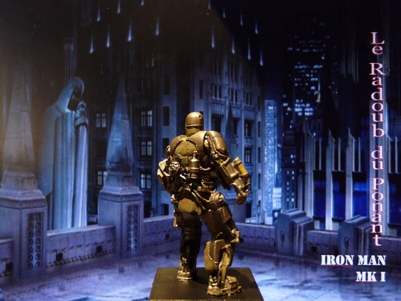 Iron Man MKI - Figurine en plomb Mliri510