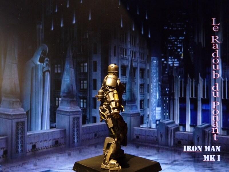 Iron Man MKI - Figurine en plomb Mliri610