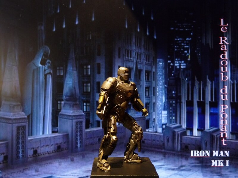 Iron Man MKI - Figurine en plomb Mliri710