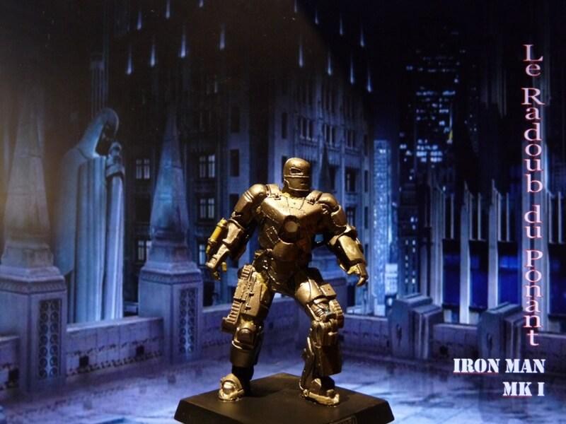 Iron Man MKI - Figurine en plomb Mliri810