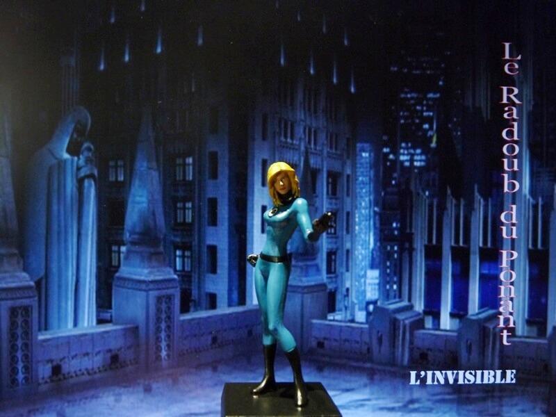 L'Invisible - Figurine en plomb Mlive110