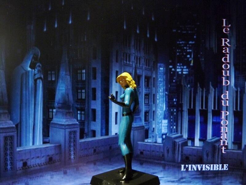 L'Invisible - Figurine en plomb Mlive210