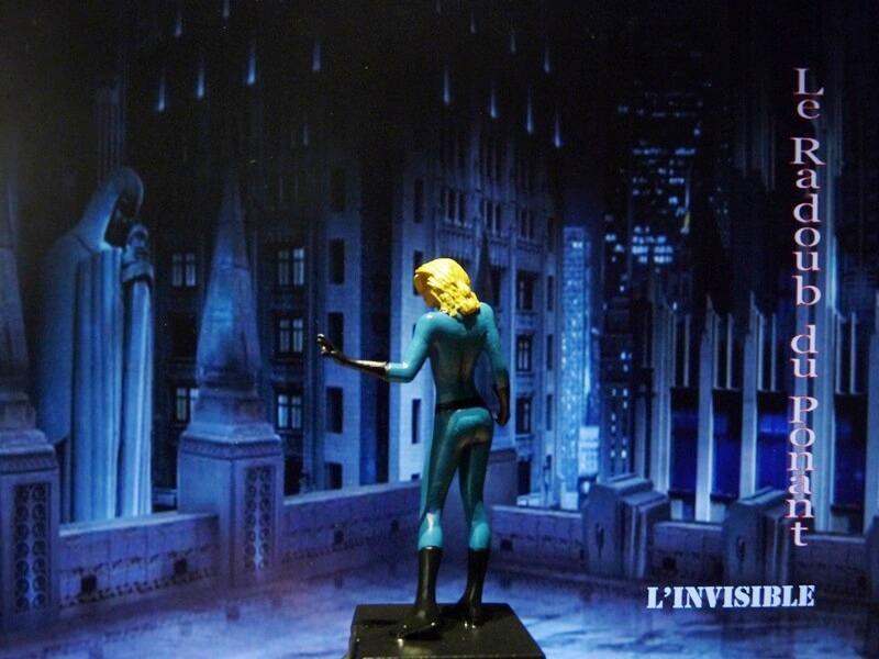 L'Invisible - Figurine en plomb Mlive310