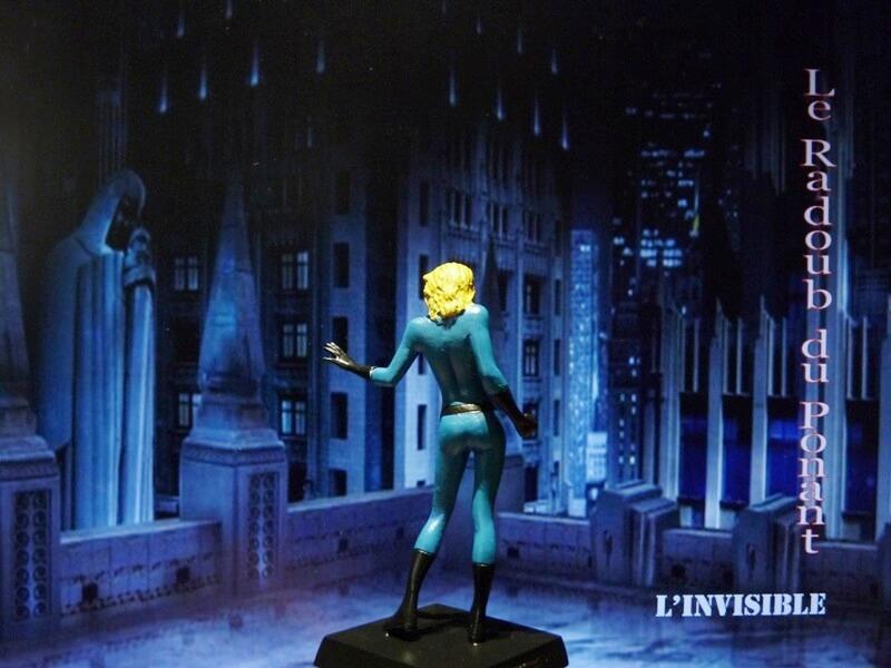 L'Invisible - Figurine en plomb Mlive410