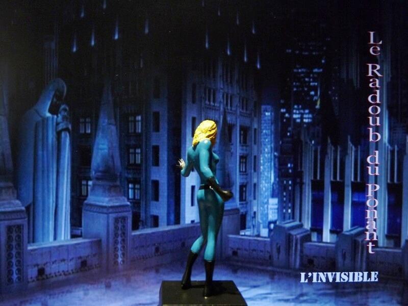 L'Invisible - Figurine en plomb Mlive510