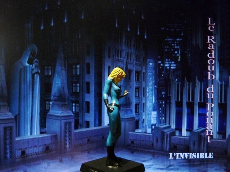 L'Invisible - Figurine en plomb Mlive610