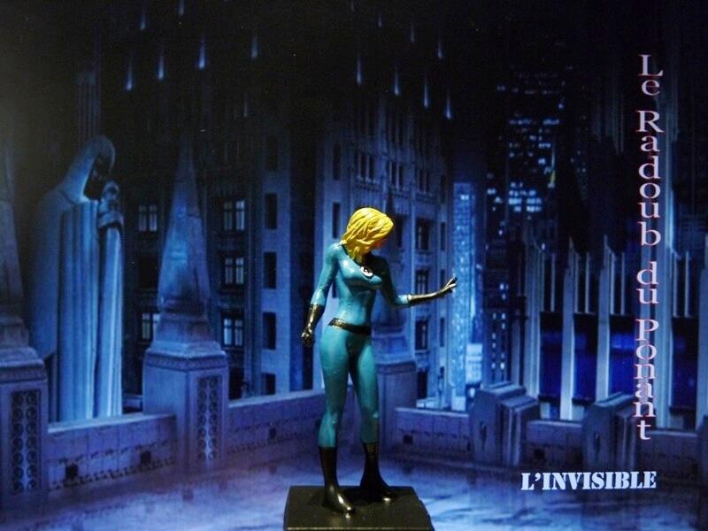 L'Invisible - Figurine en plomb Mlive710