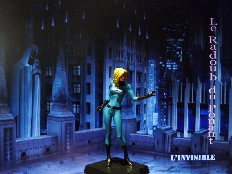 L'Invisible - Figurine en plomb Mlive810