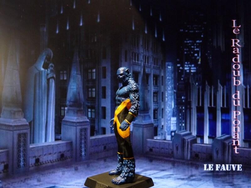Le Fauve - Figurine en plomb Mllfv210