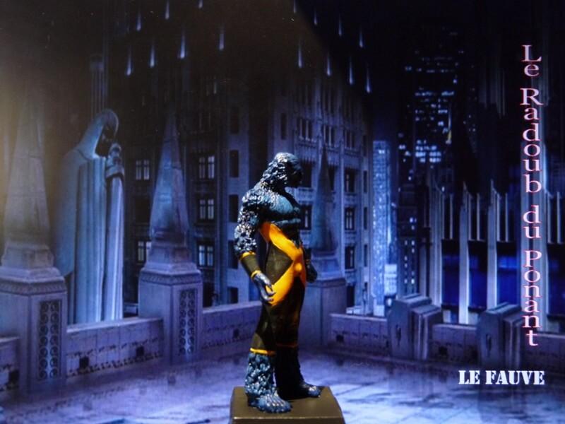 Le Fauve - Figurine en plomb Mllfv710