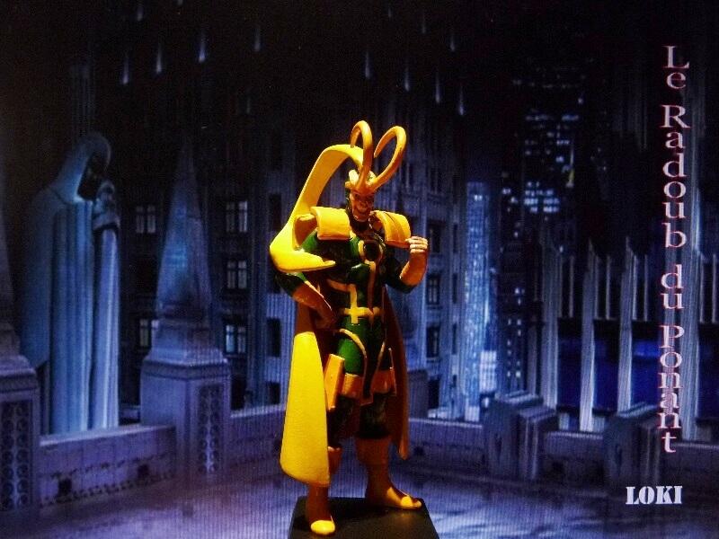 Loki - Figurine en plomb Mllki110