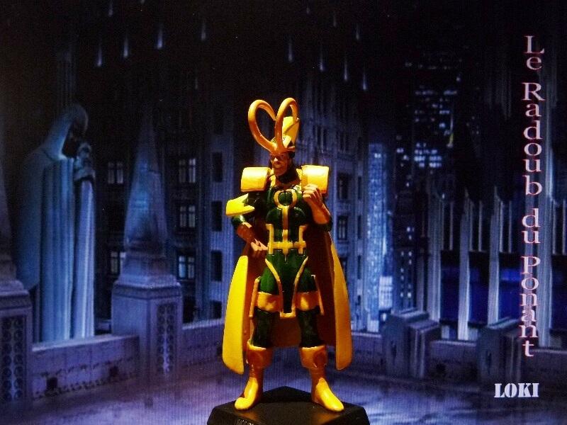 Loki - Figurine en plomb Mllki210