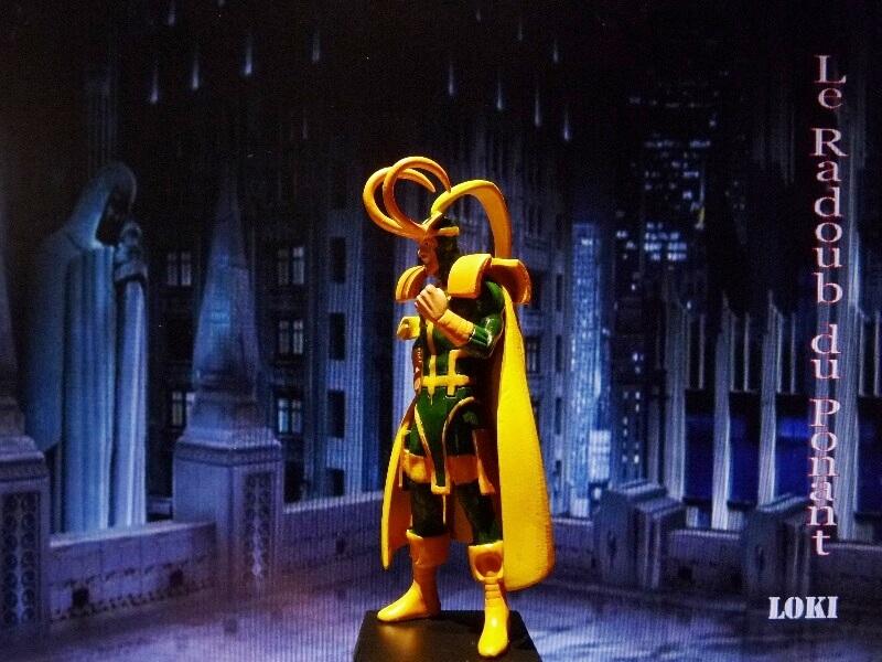 Loki - Figurine en plomb Mllki310