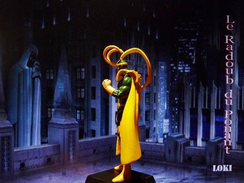 Loki - Figurine en plomb Mllki410