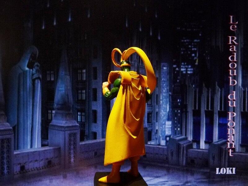 Loki - Figurine en plomb Mllki510