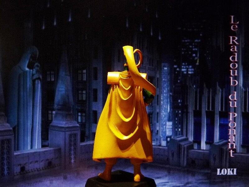 Loki - Figurine en plomb Mllki610