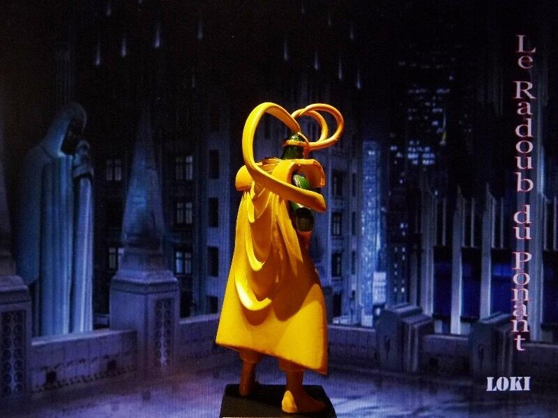 Loki - Figurine en plomb Mllki710