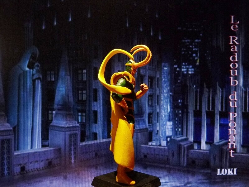 Loki - Figurine en plomb Mllki810