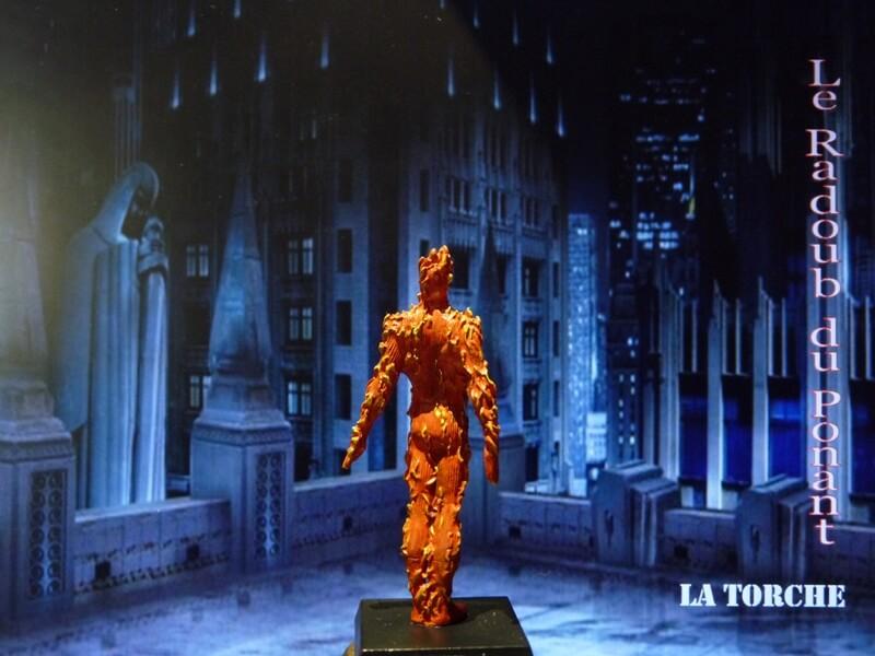 La Torche - Figurine en plomb Mllte510