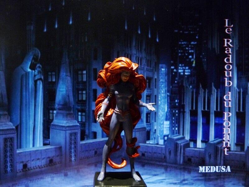 Medusa - Figurine en plomb Mlmda110