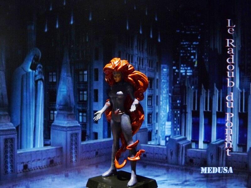 Medusa - Figurine en plomb Mlmda210