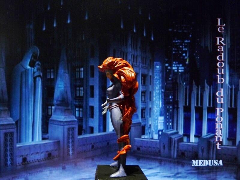 Medusa - Figurine en plomb Mlmda310