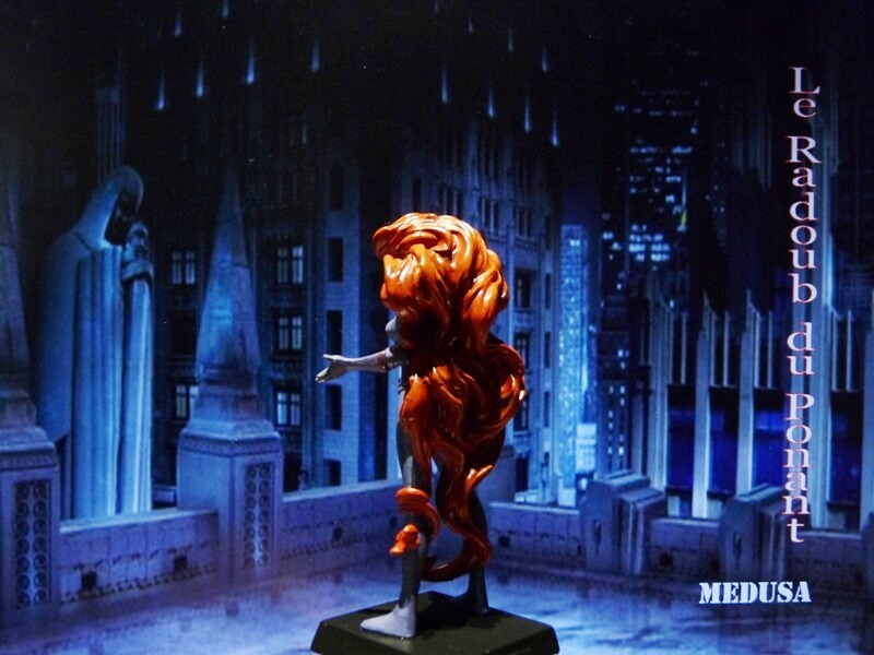 Medusa - Figurine en plomb Mlmda410