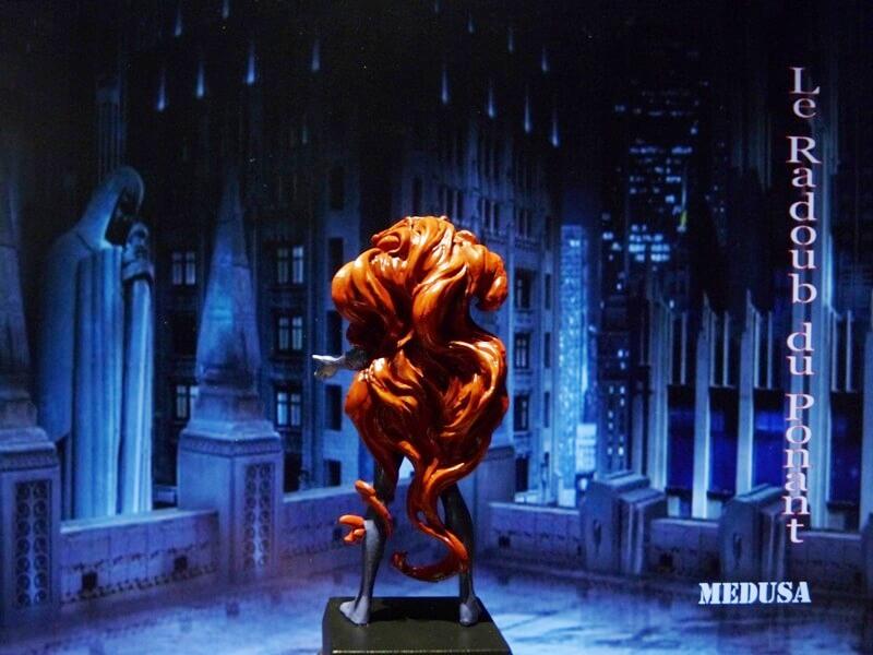 Medusa - Figurine en plomb Mlmda510
