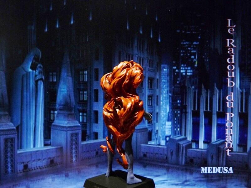 Medusa - Figurine en plomb Mlmda610