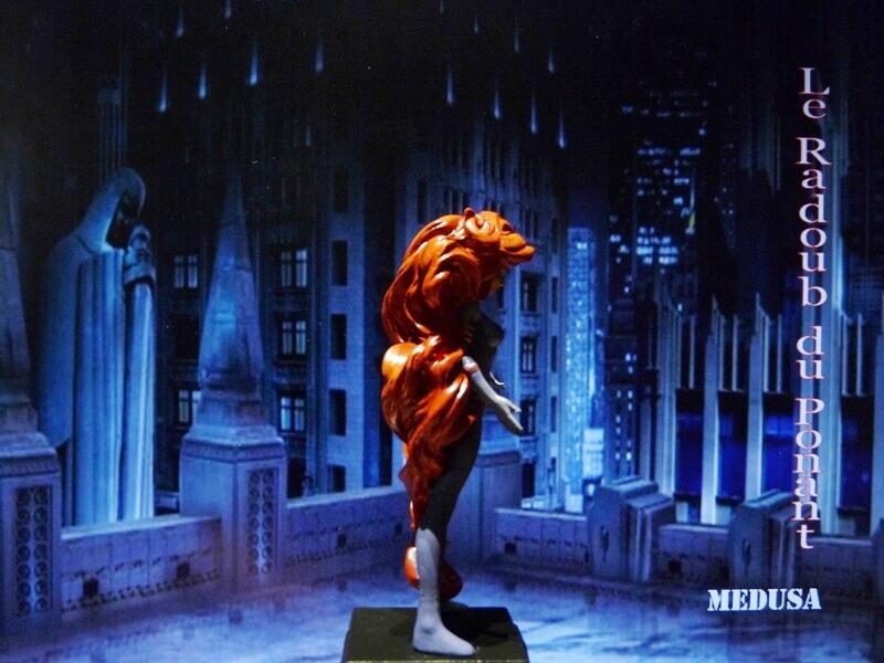 Medusa - Figurine en plomb Mlmda710