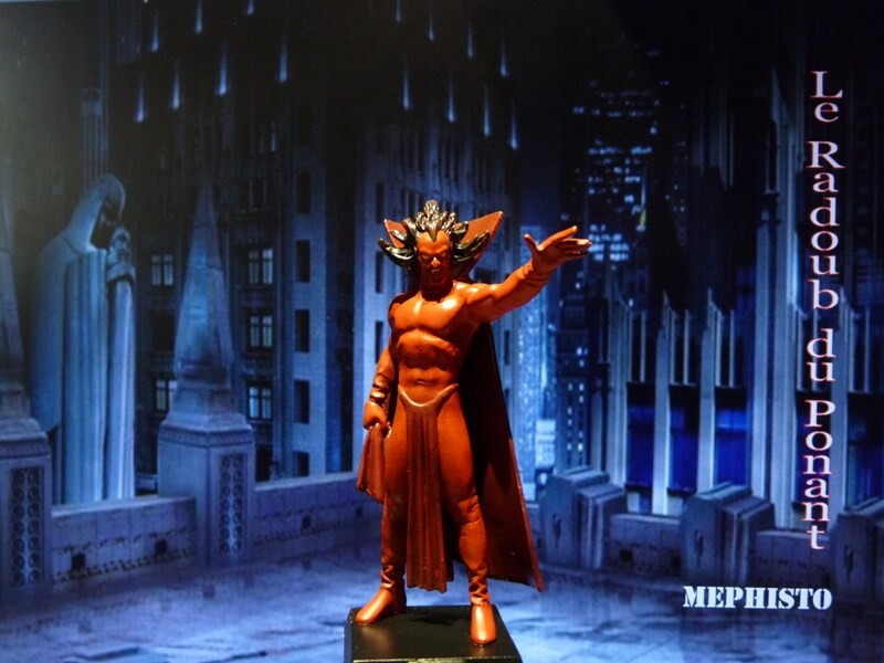 Méphisto - Figurine en plomb Mlmfo110